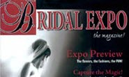 Print ad in magazine Bridal Expo