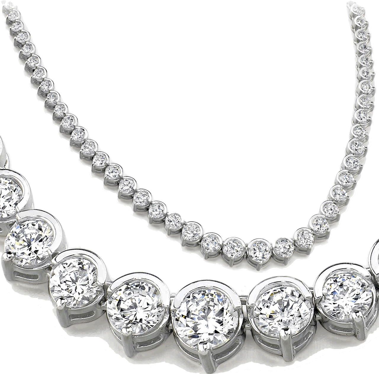 Image for the collection Diamond Necklaces